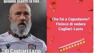 """Nainggolan: """"Cosa faccio a Capodanno? Finisco di vedere Cagliari-Lazio..."""""""