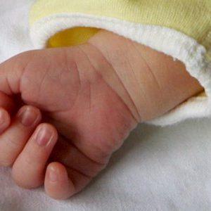 neonato foto ansa