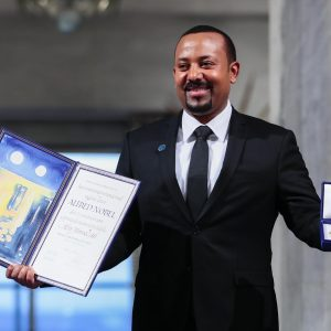 Nobel Pace 2019 a premier Etiopia Abiy Ahmed per i rapporti con l'Eritrea