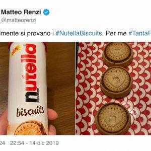 Nutella Biscuits anche in tubo, ma sono più difficili da trovare. E Renzi sui social...