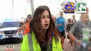 Palpeggia l'inviata durante la maratona: 43enne radiato a vita da ogni corsa VIDEO