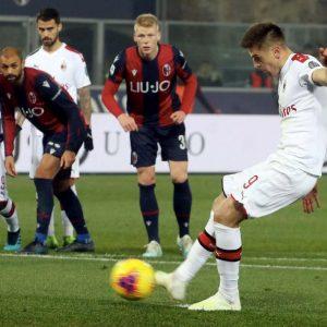 Rigore Bologna-Milan, Piatek Orsolini subiscono falli, giusti