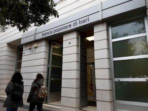 Banca Popolare di Bari, piano del governo: salva con il Mediocredito