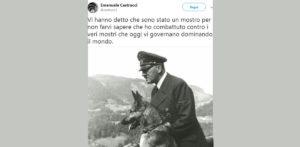 Siena, prof Emanuele Castrucci in pensione dopo tweet su Hitler