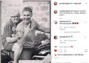 Raoul Bova e il dolore al funerale della mamma Rosa