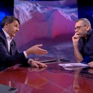 """Formigli a Renzi: """"Foto mia casa in rete dopo intervista? E' squadrismo"""""""