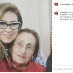 Romina Power e il messaggio per mamma Jolanda morta su Instagram