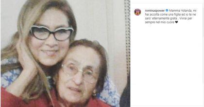 Romina Power e il messaggio per mamma Jolanda morta su Instagram