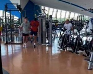 """Cristiano Ronaldo, video allenamento con Djokovic: """"Ti insegno a 'volare'"""""""