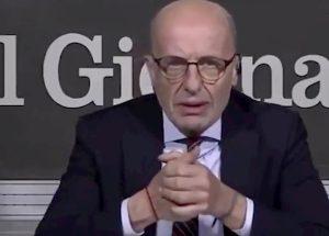 """DiMartedì, Sallusti prova a difendere l'articolo su Nilde Iotti: """"Le romagnole sono tutte esuberanti"""". Gelo in studio"""