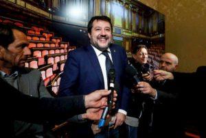 """Matteo Salvini: """"Non andrò al Quirinale per gli auguri di Natale. Ho la recita di mia figlia"""""""