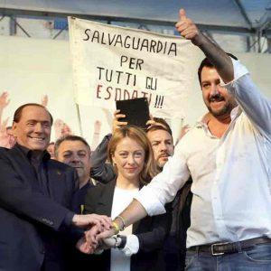 Salvini, Meloni e Berlusconi: accordo sui candidati del centrodestra alle regionali