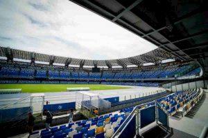 Napoli-Parma, tetto dello stadio San Paolo crollato: ecco i lavori per far giocare la partita VIDEO
