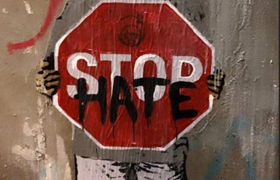 Sardine, Liliana Segre e la street art di TvBoy