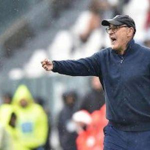 """Lazio-Juventus, Sarri: """"Gara condizionata dagli episodi. Cristiano Ronaldo in crescita"""""""