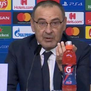 Juventus, Sarri litiga con giornalista e bacchetta Guardiola...