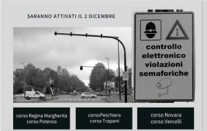 Torino: da oggi in funzione i supersemafori (TRed) che multano chi passa col rosso