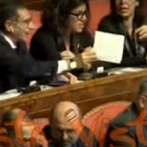 senatori lega cartello conte pinocchio