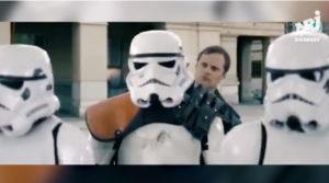 Star Wars, polizia di Berna fa la multa agli Stormtrooper per Natale