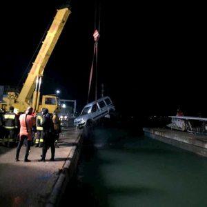 Termoli, fa retromarcia e finisce con l'auto in mare: morto pensionato Giuseppe Tumini