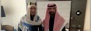 """Francesco Totti e Andrea Pirlo """"arabi"""" su Instagram, ecco perché erano a Riyad"""