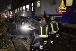 Rezzato (Brescia): treno colpisce auto. Traffico ferroviario in tilt sulla Milano-Venezia