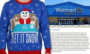 Walmart, Colombia fa causa per il maglione Babbo Natale e cocaina: lo ritirano