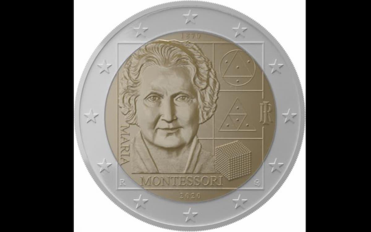 Monete 2020, i 2 euro italiani dedicati ai Vigili del Fuoco e alla Montessori 02