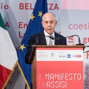Enel, Starace ad Assisi conferma impegno verso economia circolare