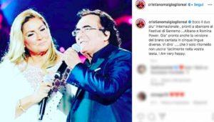al bano e romina su instagram