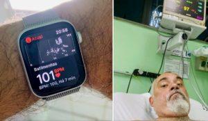 Il suo Apple Watch gli segnala tachicardia e lui evita un infarto. E Tim Cook gli scrive