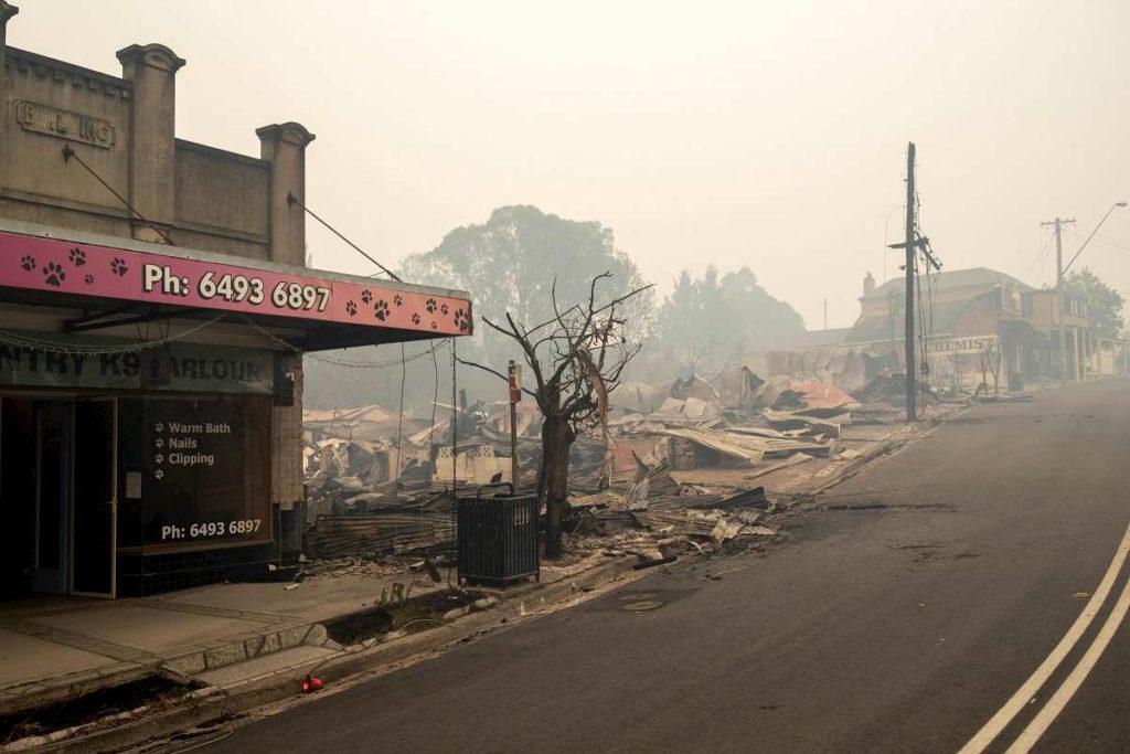 incendi devastanti australia