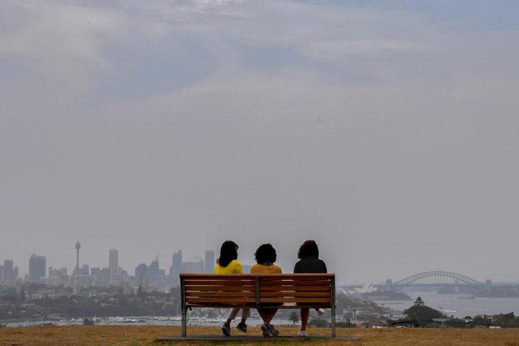 australia incendi fumo