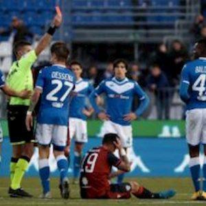 Brescia, Mario Balotelli: due giornate di squalifica più multa