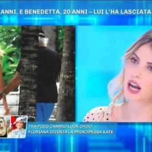 """Benedetta Bosi ospite a Domenica Live smonta il gossip: """"Con Briatore solo un bacio a stampo ma lui..."""""""