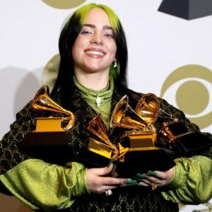 Billie Eilish vince 5 premi ai Grammy Awards 2020 dedicato a Kobe Bryant