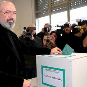 Proiezioni Emilia Romagna elezioni regionali: Bonaccini batte Salvini e Borgonzoni