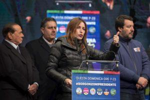 Regionali in Emilia Romagna: Salvini, Meloni e Berlusconi pronti alla spallata al governo Conte