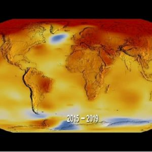 Cambiamento climatico, gli ultimi cinque anni i più caldi dal 1880
