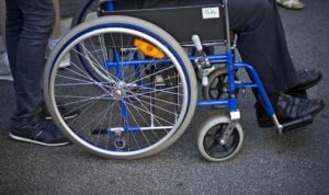 carrozzina disabili ansa