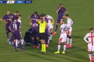 """Gaetano Castrovilli, malore in campo durante Fiorentina-Genoa: """"Non capisco più niente"""""""