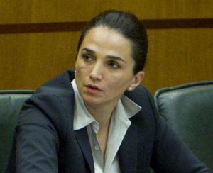 Gina Cetrone, ex consigliera regionale del Pdl, arrestata per estorsione con metodo mafioso