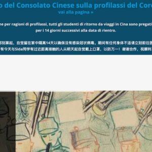 """Coronavirus, i conservatori di Como e Roma agli studenti cinesi: """"Restate a casa"""""""