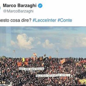 Lecce-Inter, i tifosi salentini odiano Conte per due motivi