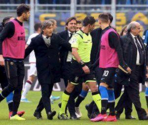 """La Gazzetta dello Sport: """"Conte non ha parlato dopo Inter-Cagliari perché ha avuto un principio di tachicardia dopo le proteste"""""""