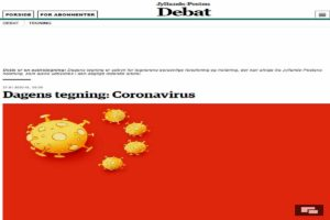 vignetta danese coronavirus