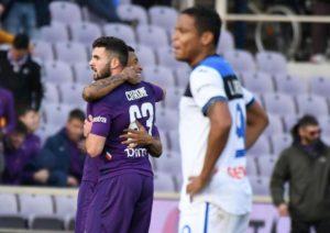 Fiorentina, Cutrone: l'incubo è finito, primo gol con i viola