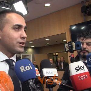 """Gregoretti, Di Maio: """"Salvini si prenda le sue responsabilità"""" VIDEO"""