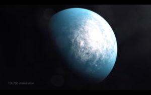 Esopianeta TOI 700 d, il gemello della Terra a 100 anni luce da noi