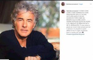 Fabrizio Corona, il post per Giletti